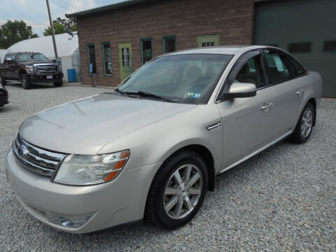 2009 Ford Taurus for sale at Sleepy Hollow Motors in New Eagle PA