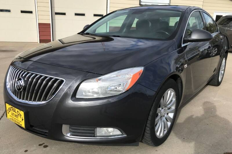 2011 Buick Regal for sale at Central City Auto West in Lewistown MT