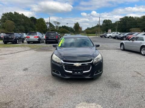 2014 Chevrolet Malibu for sale at Auto Mart in North Charleston SC