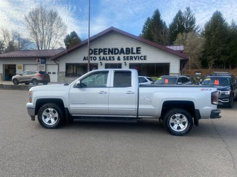 2015 Chevrolet Silverado 1500 for sale at Dependable Auto Sales and Service in Binghamton NY
