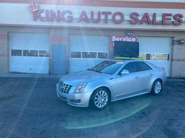2012 Cadillac CTS for sale at KING AUTO SALES  II in Detroit MI