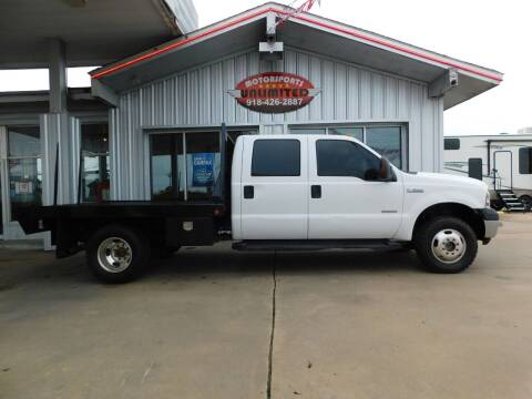 2006 Ford F-350 Super Duty for sale at Motorsports Unlimited in McAlester OK
