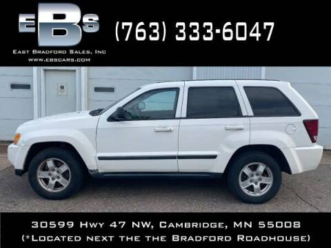 2007 Jeep Grand Cherokee for sale at East Bradford Sales, Inc in Cambridge MN
