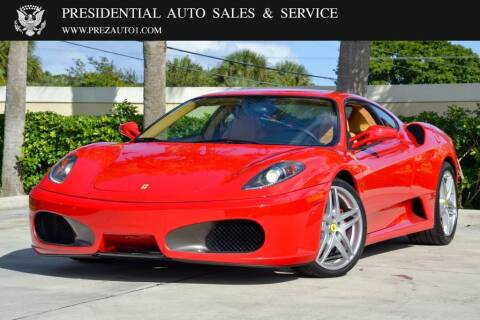 2005 Ferrari F430 for sale at Presidential Auto  Sales & Service in Delray Beach FL