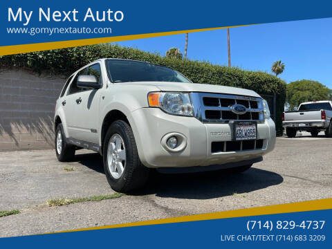2008 Ford Escape for sale at My Next Auto in Anaheim CA