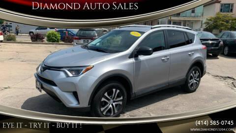 2016 Toyota RAV4 for sale at Diamond Auto Sales in Milwaukee WI