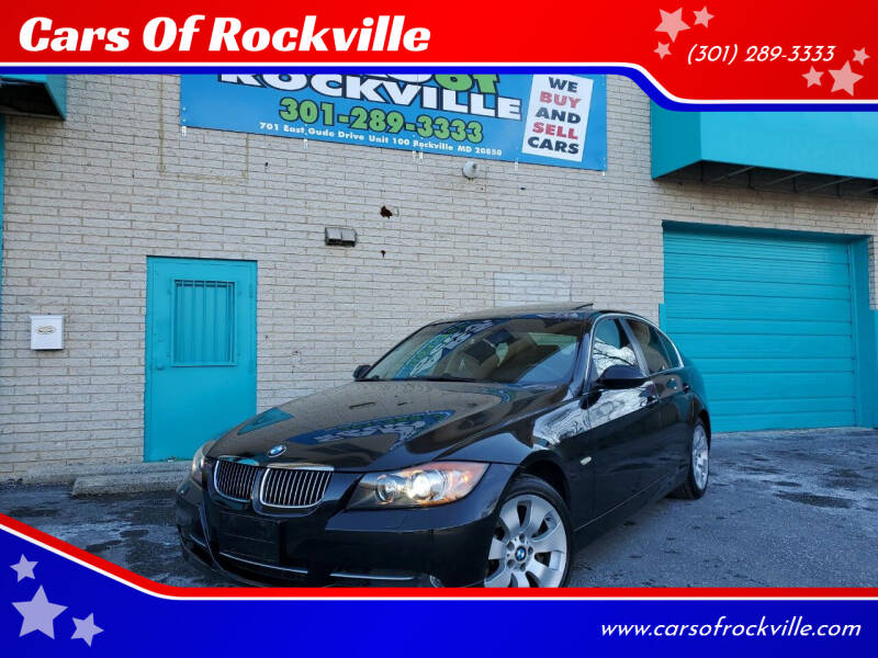 2008 BMW 3 Series for sale at Cars Of Rockville in Rockville MD