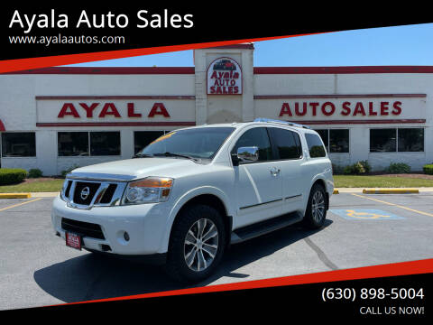 2015 Nissan Armada for sale at Ayala Auto Sales in Aurora IL