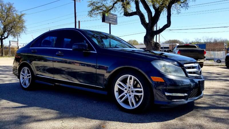 2013 Mercedes-Benz C-Class for sale at Clover Leaf Auto Group in San Antonio TX