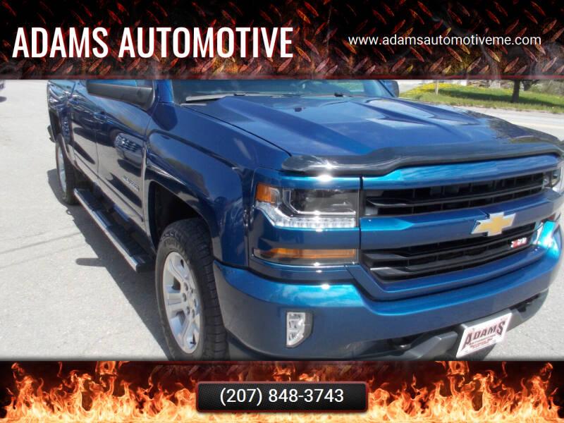 2017 Chevrolet Silverado 1500 for sale at Adams Automotive in Hermon ME