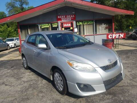2009 Toyota Matrix for sale at Best Deal Motors in Saint Charles MO