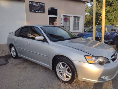 2005 Subaru Legacy for sale at Sparks Auto Sales Etc in Alexis NC