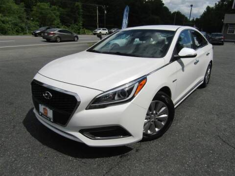 2016 Hyundai Sonata Hybrid for sale at Guarantee Automaxx in Stafford VA