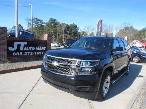 2016 Chevrolet Suburban for sale at J T Auto Group in Sanford NC