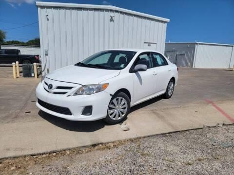 2012 Toyota Corolla for sale at Bad Credit Call Fadi in Dallas TX