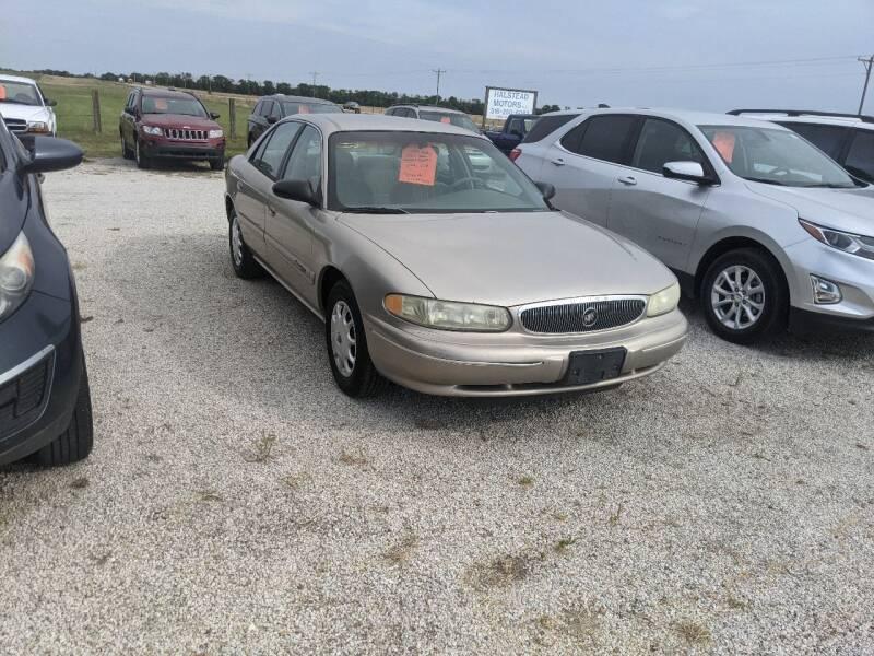 1999 Buick Century for sale at Halstead Motors LLC in Halstead KS
