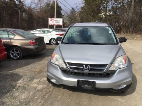 2010 Honda CR-V for sale at B & B GARAGE LLC in Catskill NY