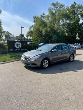 2013 Hyundai Sonata for sale at Station 45 Auto Sales Inc in Allendale MI