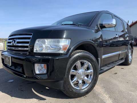 2004 Infiniti QX56 for sale at LUXURY IMPORTS in Hermantown MN
