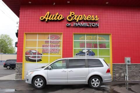 2009 Volkswagen Routan for sale at AUTO EXPRESS OF HAMILTON LLC in Hamilton OH