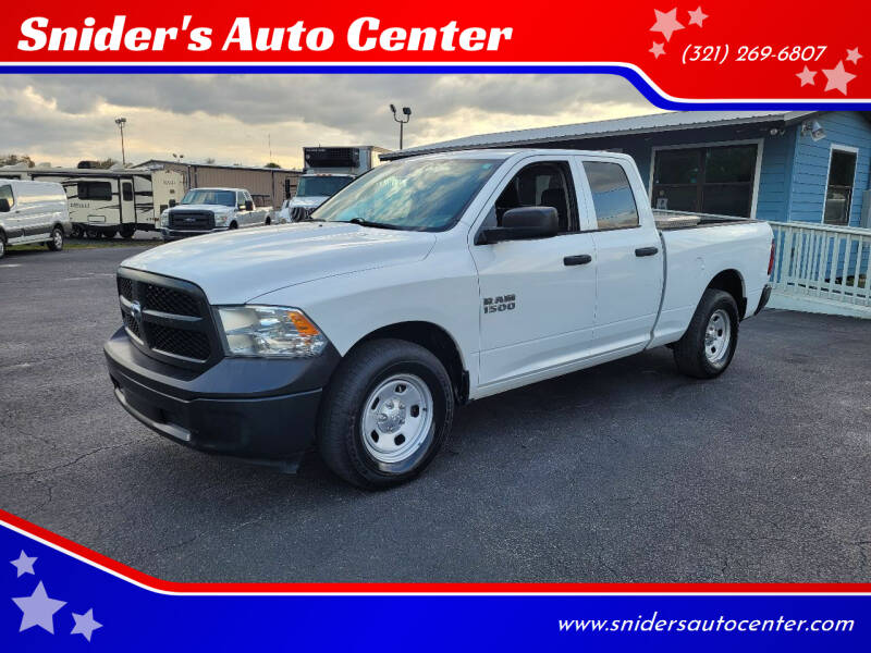 2014 RAM Ram Pickup 1500 for sale at Snider's Auto Center in Titusville FL