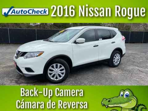 2016 Nissan Rogue for sale at LIQUIDATORS in Houston TX