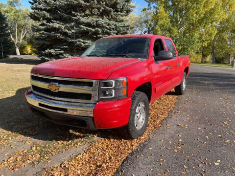 2010 Chevrolet Silverado 1500 for sale at BELOW BOOK AUTO SALES in Idaho Falls ID