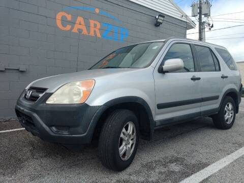2002 Honda CR-V for sale at CarZip in Indianapolis IN