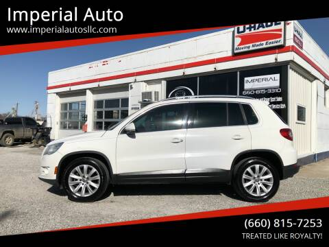 2010 Volkswagen Tiguan for sale at Imperial Auto of Marshall in Marshall MO