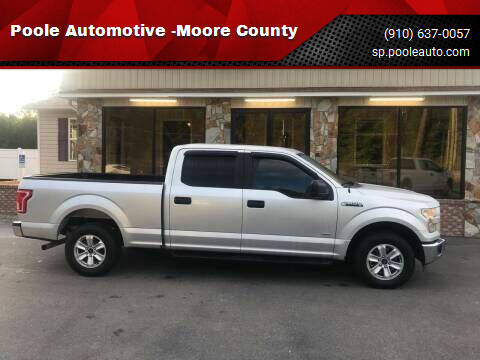 2015 Ford F-150 for sale at Poole Automotive in Laurinburg NC