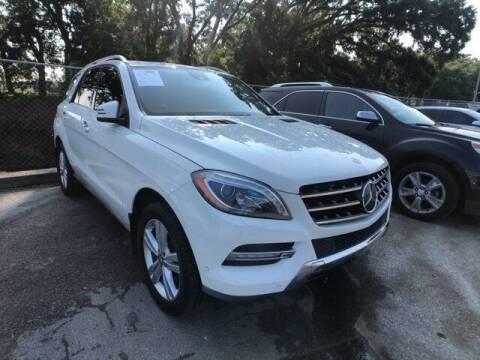 2013 Mercedes-Benz M-Class for sale at Allen Turner Hyundai in Pensacola FL