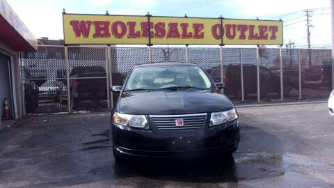 2005 Saturn Ion for sale at LONG BROTHERS CAR COMPANY in Cleveland OH