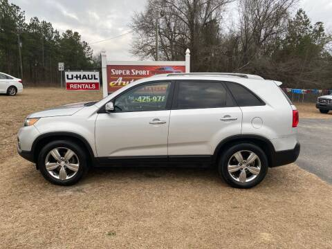 2013 Kia Sorento for sale at Super Sport Auto Sales in Hope Mills NC