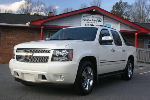 2010 Chevrolet Avalanche for sale at Peach State Motors Inc in Acworth GA
