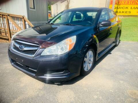 2010 Subaru Legacy for sale at BRYANT AUTO SALES in Bryant AR