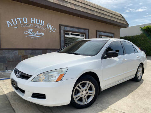 2007 Honda Accord for sale at Auto Hub, Inc. in Anaheim CA
