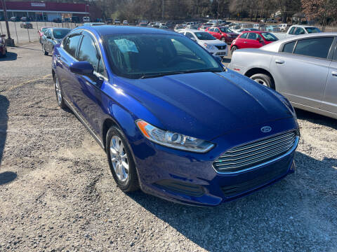 2016 Ford Fusion for sale at Certified Motors LLC in Mableton GA
