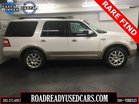 2012 Ford Expedition for sale at Road Ready Used Cars in Ansonia CT