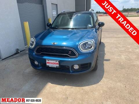 2018 MINI Countryman for sale at Meador Dodge Chrysler Jeep RAM in Fort Worth TX