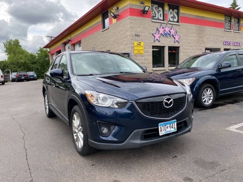 2015 Mazda CX-5 for sale at MIDWEST CAR SEARCH in Fridley MN