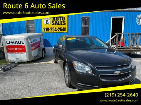 2009 Chevrolet Malibu for sale at Route 6 Auto Sales in Portage IN