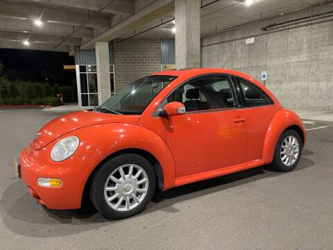 2004 Volkswagen New Beetle for sale at Issaquah Autos in Issaquah WA