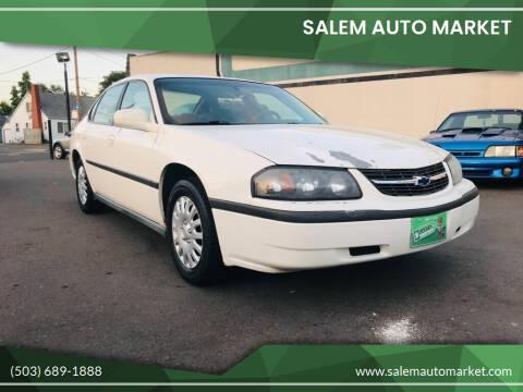 2003 Chevrolet Impala for sale at Salem Auto Market in Salem OR