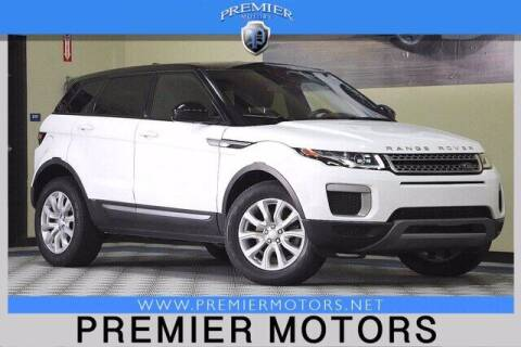 2017 Land Rover Range Rover Evoque for sale at Premier Motors in Hayward CA