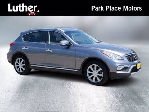 2017 Infiniti QX50 for sale at Park Place Motor Cars in Rochester MN