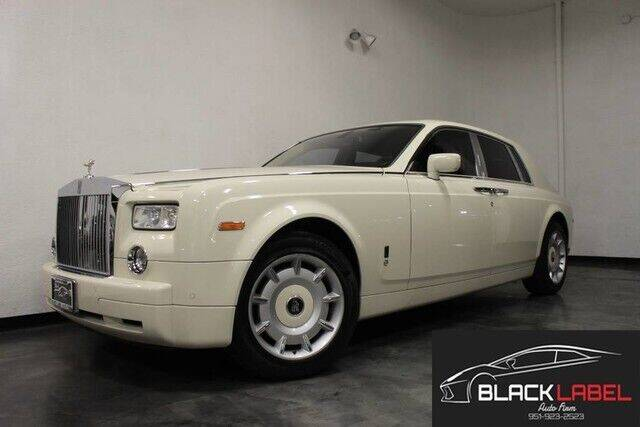 2005 Rolls-Royce Phantom for sale at BLACK LABEL AUTO FIRM in Riverside CA