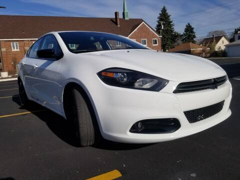 2015 Dodge Dart for sale at Dymix Used Autos & Luxury Cars Inc in Detroit MI