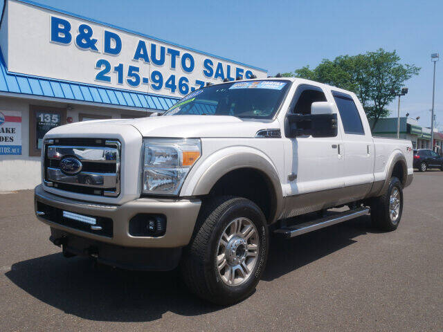 2011 Ford F-350 Super Duty for sale at B & D Auto Sales Inc. in Fairless Hills PA
