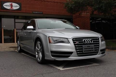 2013 Audi S8 for sale at Team One Motorcars, LLC in Marietta GA