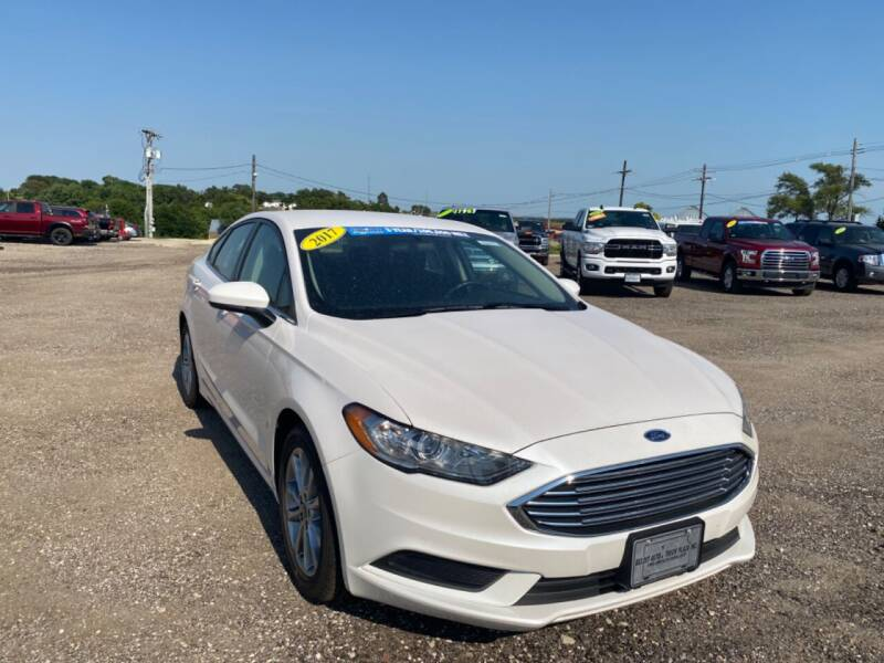 2017 Ford Fusion for sale at BELOIT AUTO & TRUCK PLAZA INC in Beloit KS